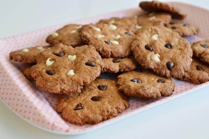 עוגיות בננה וחמאת בוטנים