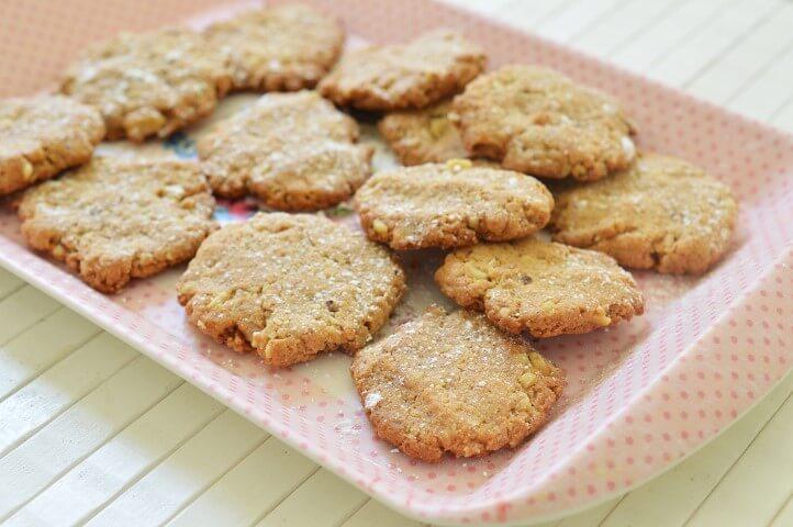 עוגיות דבש ואגוזים ללא גלוטן