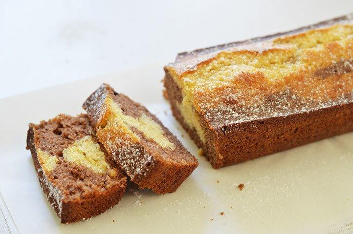 עוגת שיש דבש שוקולד