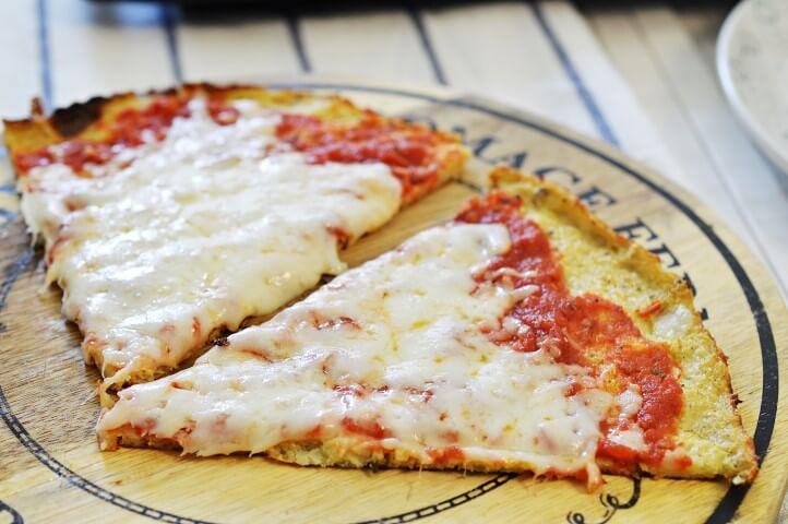 פיצה מבצק כרובית