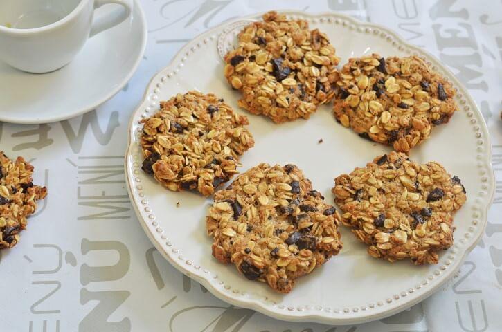 מתכון לעוגיות שיבולת שועל ללא קמח