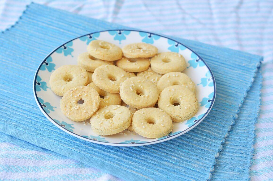 עוגיות מלוחות ללא גלוטן