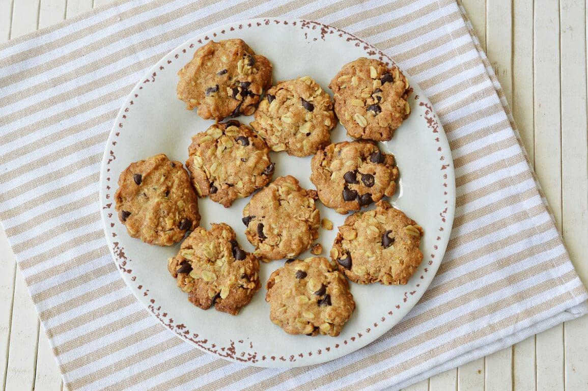 עוגיות כוסמין ושיבולת שועל