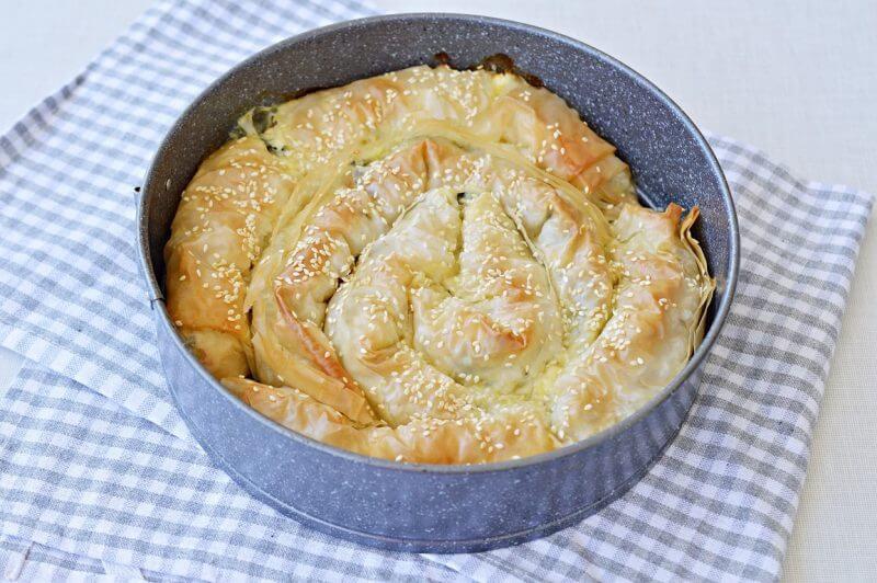 מאפה גבינות ותרד