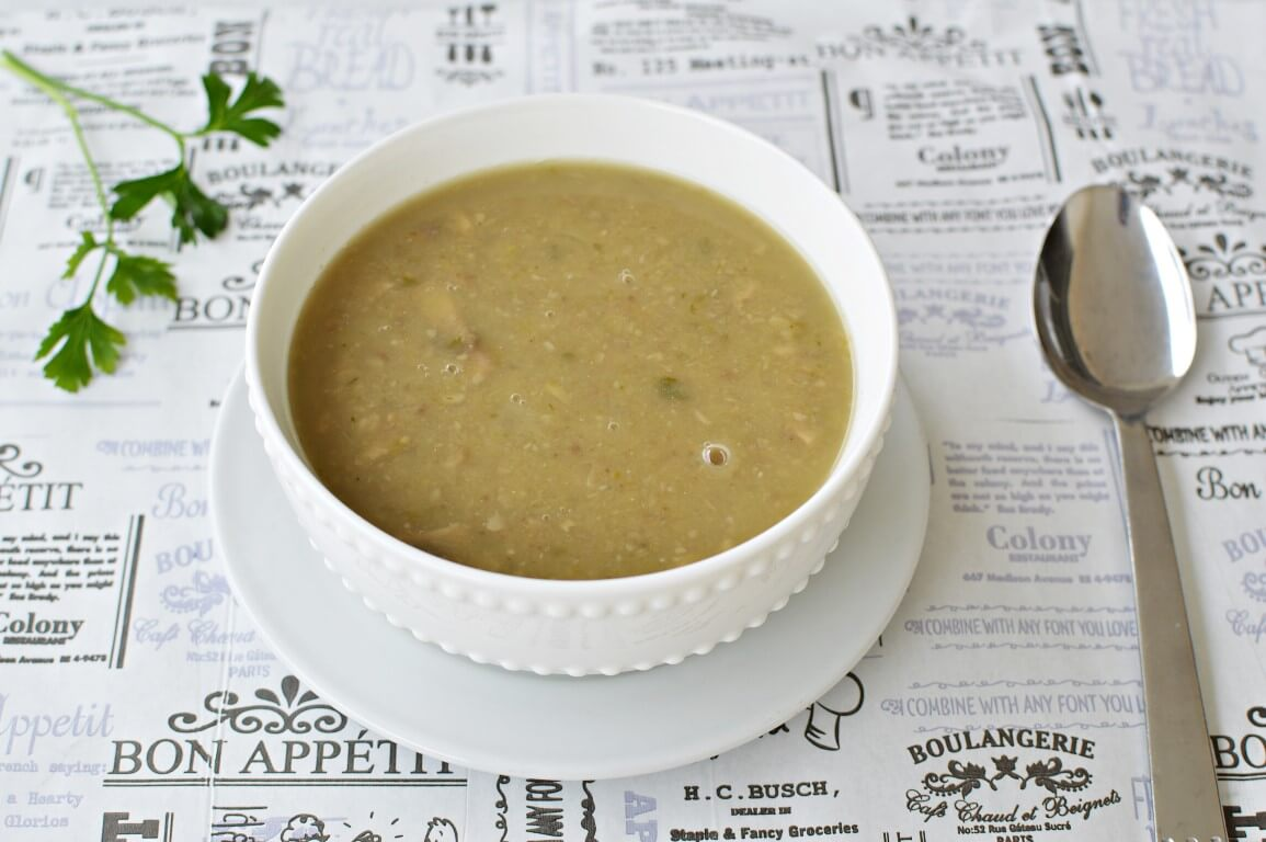 מרק ערמונים ופטריות