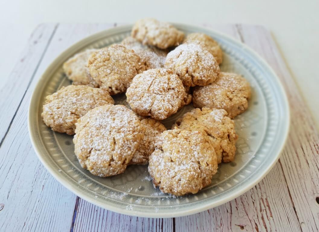 עוגיות אגוזים טחונים