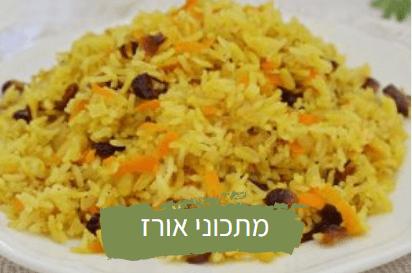 מתכוני אורז