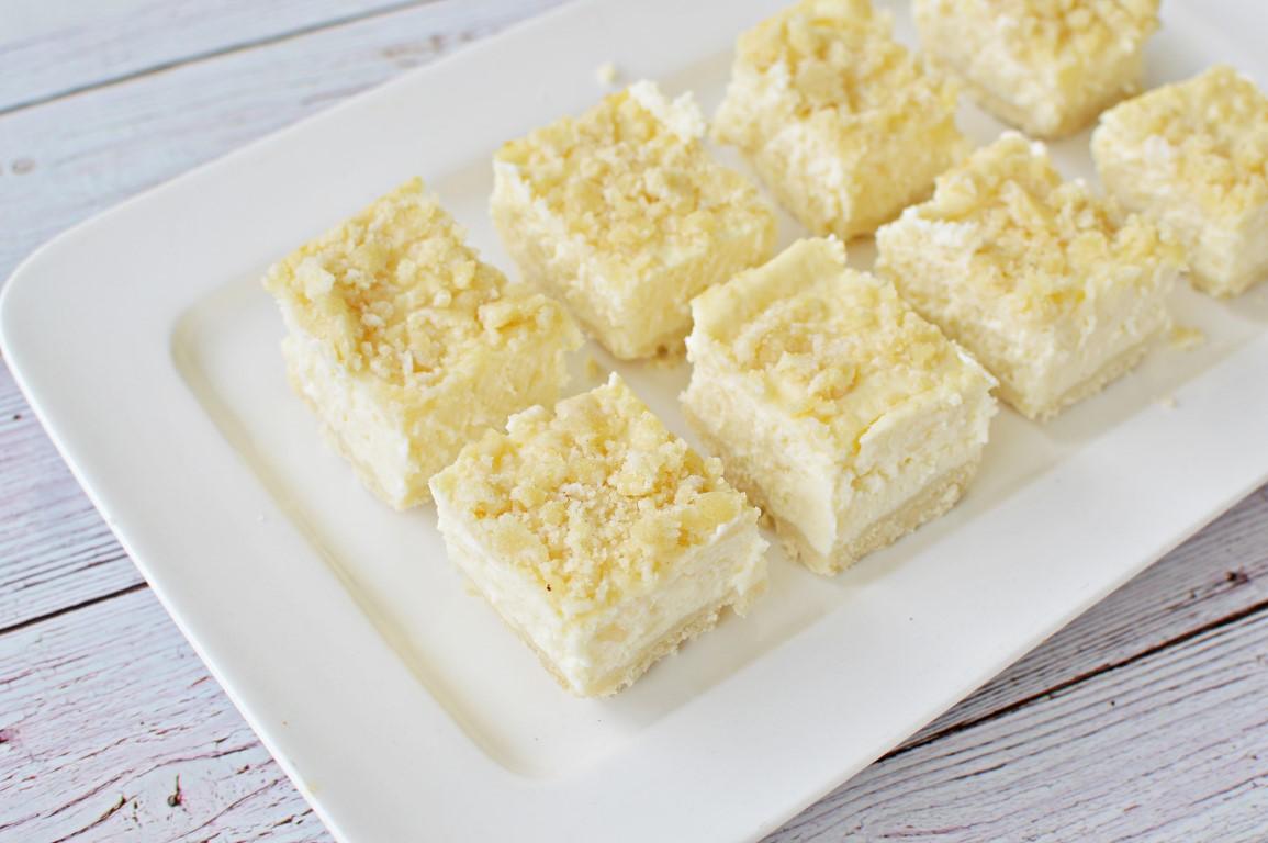 ריבועי גבינה ופירורים