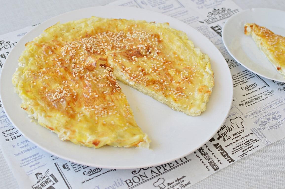 מאפה גבינות מדפי אורז