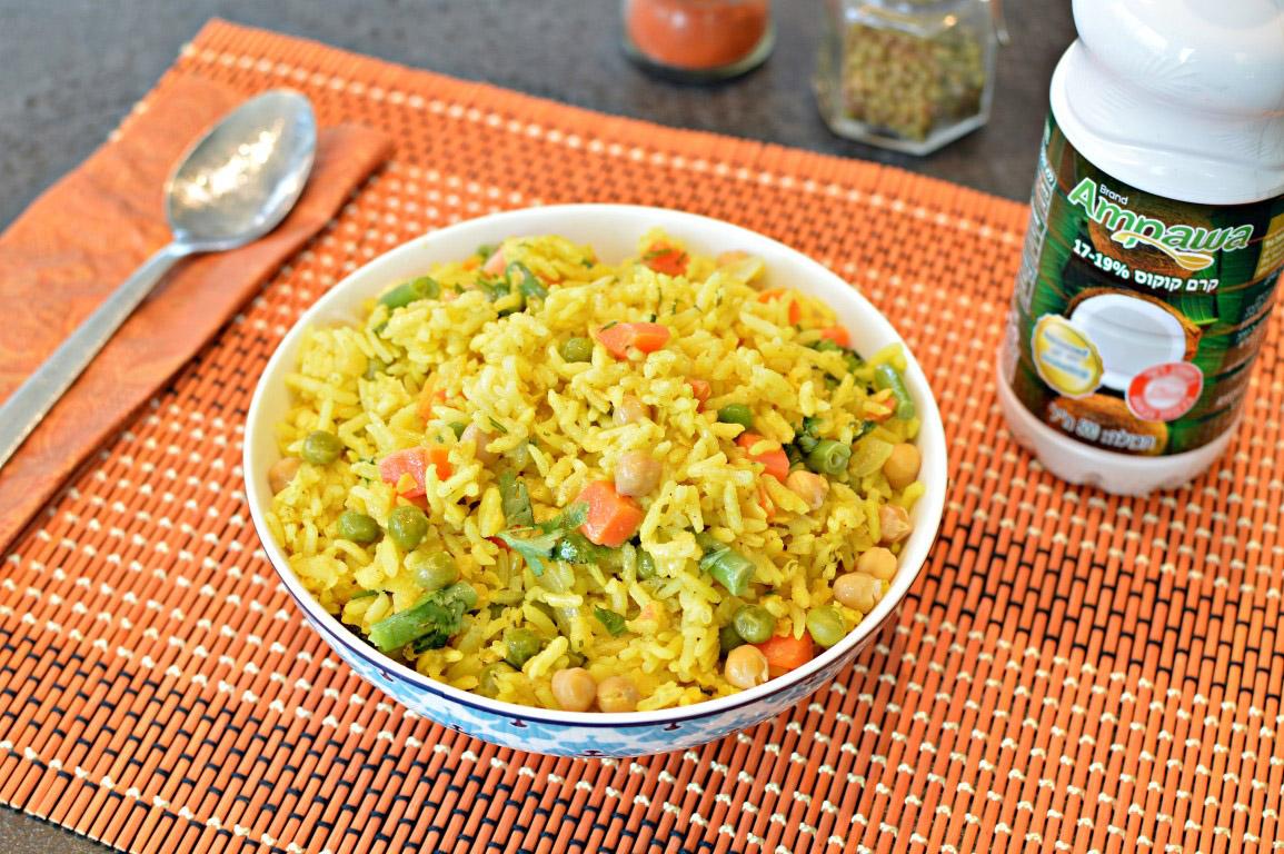 תבשיל הודי צמחוני