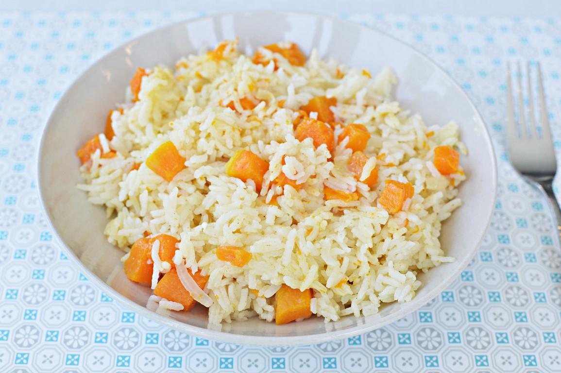 אורז עם דלעת