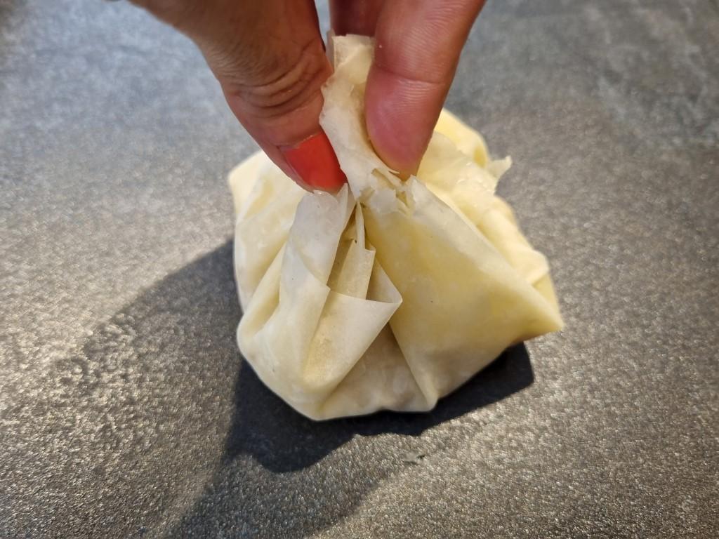 בצק פילו במילוי חזה עוף